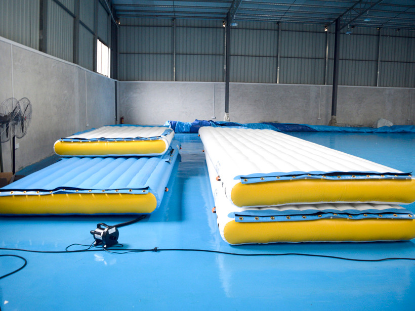 Inflatable Floating Platform