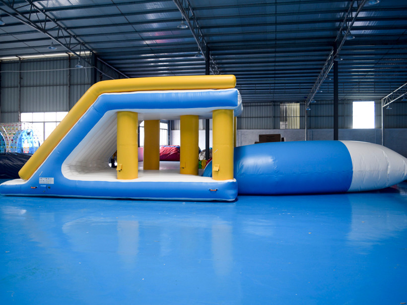 water jump high quality Bouncia Brand inflatable water games
