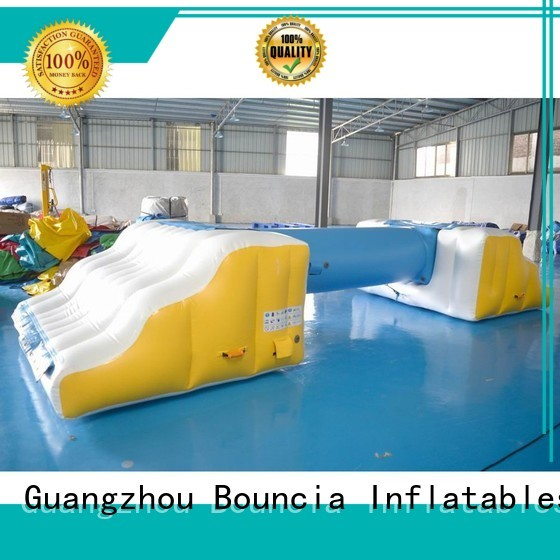 mini floating OEM inflatable water games Bouncia