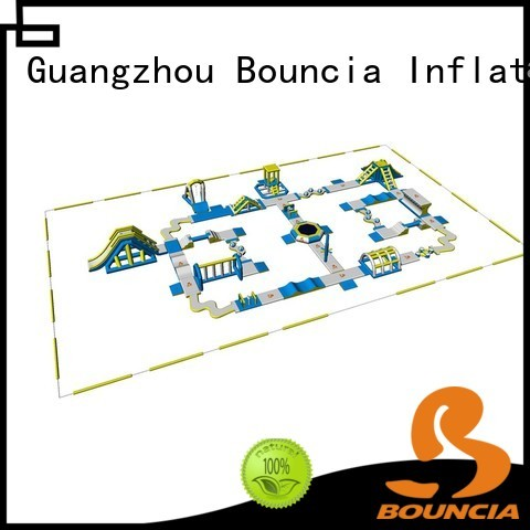 Quality Bouncia Brand inflatable float waterpark