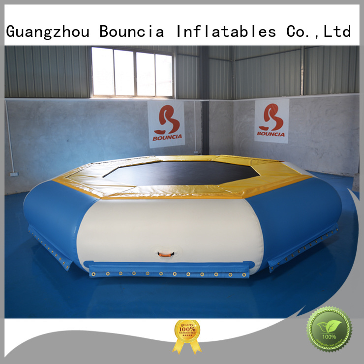 inflatable factory certiifcate Bouncia Brand inflatable water games