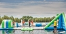 UK Oxford Inflatable Aqua Fun Park made by Bouncia