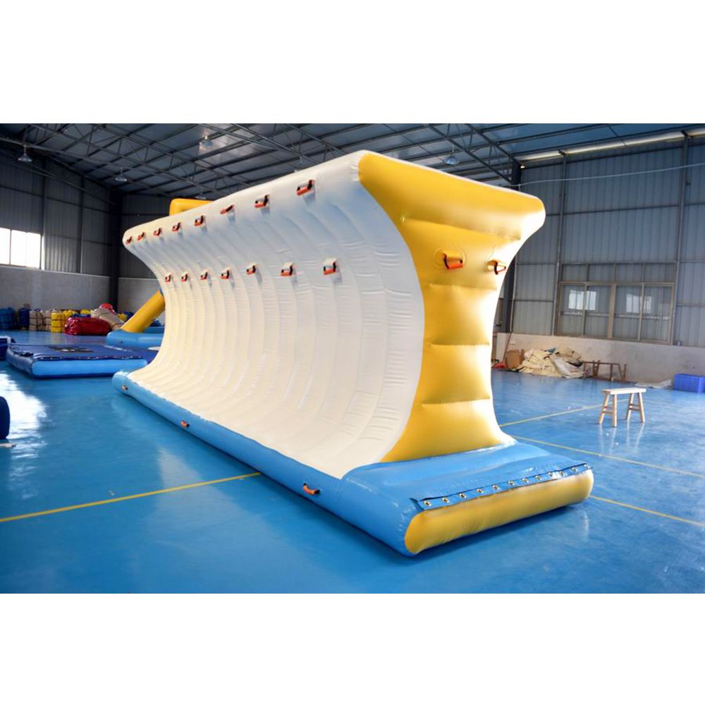 Bouncia  Adult Inflatable Water Park Play Equipment  WIth 0.9mm PVC Tarpaulin Giant Inflatable Water Park image3