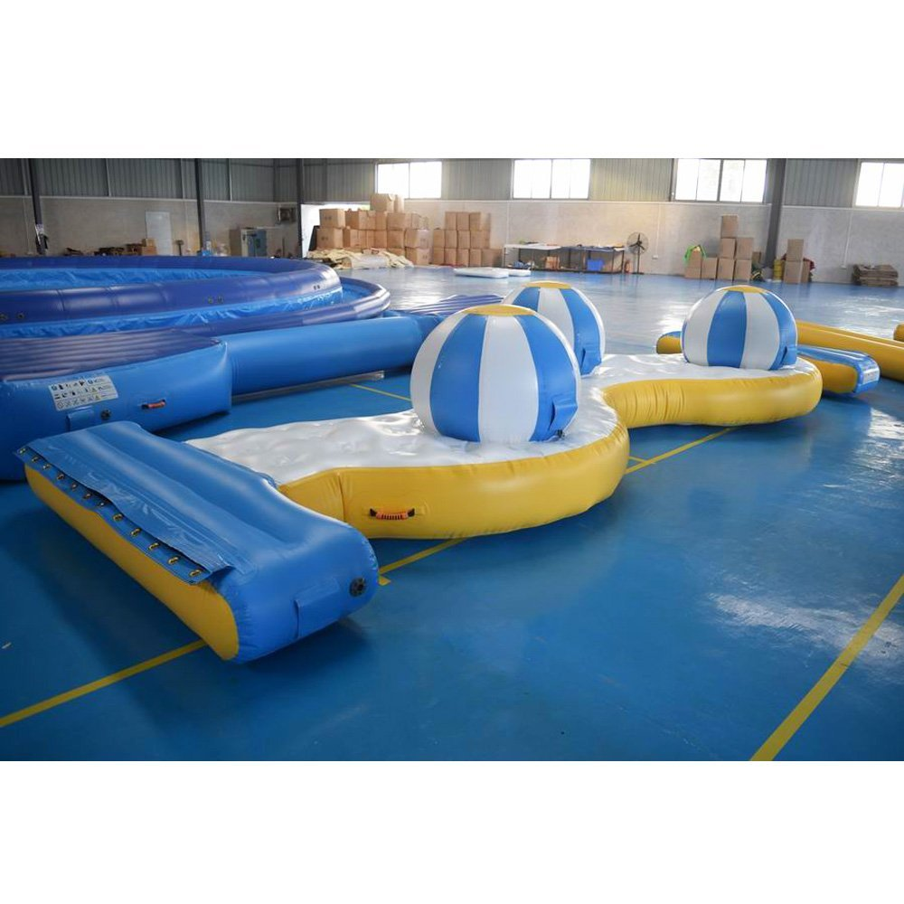 Bouncia  Bouncia Inflatable Water Park Games For Open Water Medium Inflatable Aqua Park image1