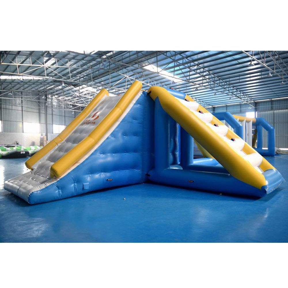 Bouncia  New Inflatable Floating Water Park With Factory Price Medium Inflatable Aqua Park image5
