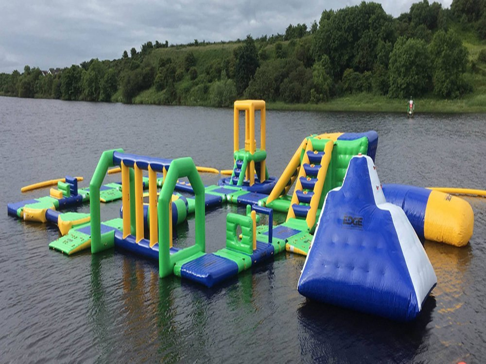 UK Inflatable Water Park Games Design Build