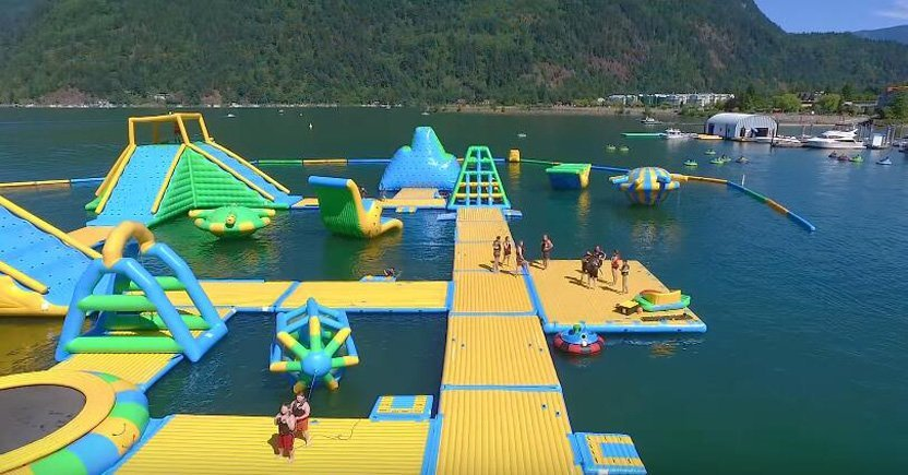 Harrison Giant Inflatable Water Park Equipment  Manufacturer