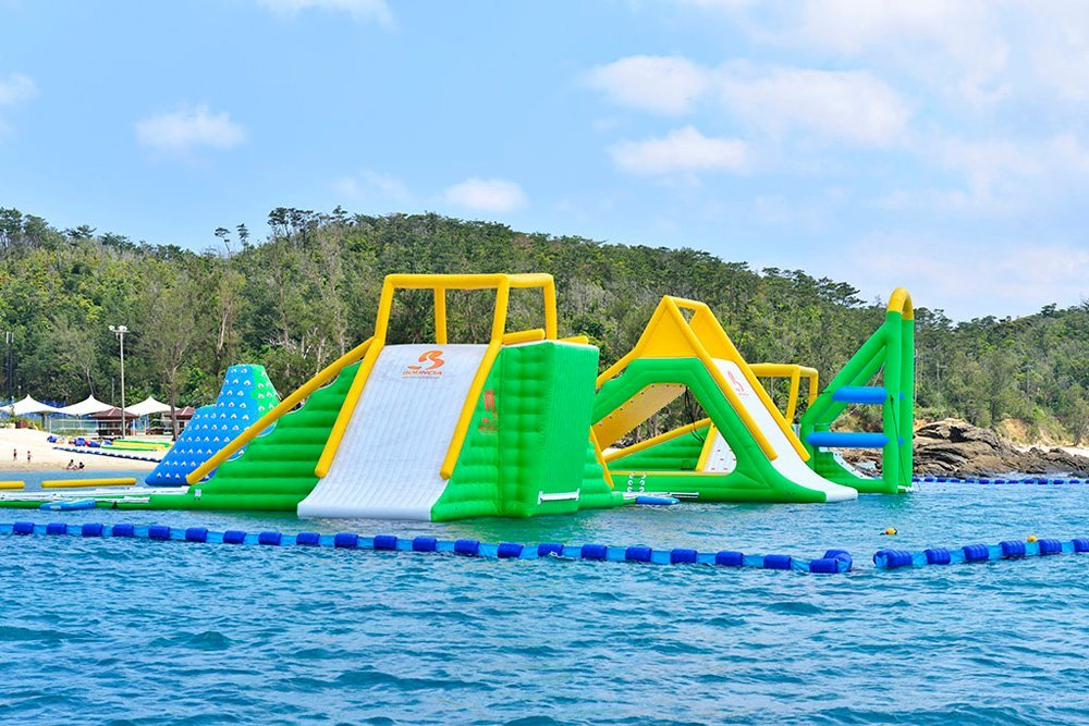 Open Water Inflatable Floating Water Park Games