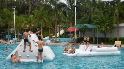 Pool Inflatable Water Park