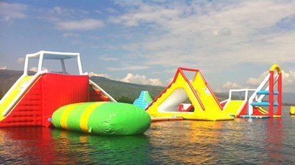 Inflatable Aqua Park For Sea