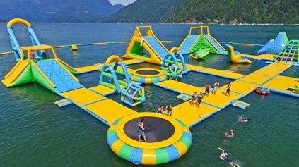 Exciting Aqua Park In Canada
