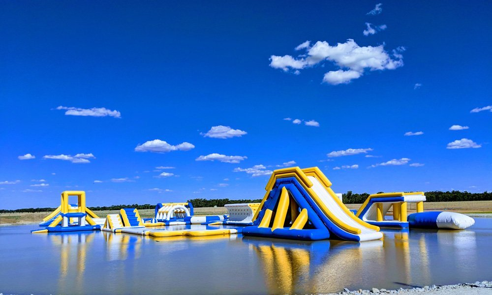 2018 New Inflatable Commercial Water Splash Park In Australia