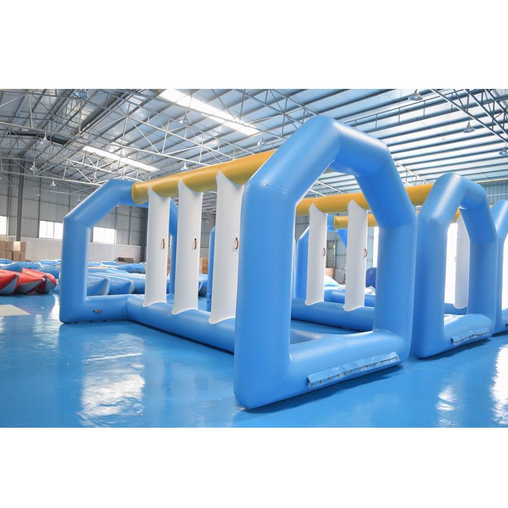 Bouncia  18.4mL*11mW Inflatable Waterpark Toys For Commercial Pool Mini Inflatable Water Park image5