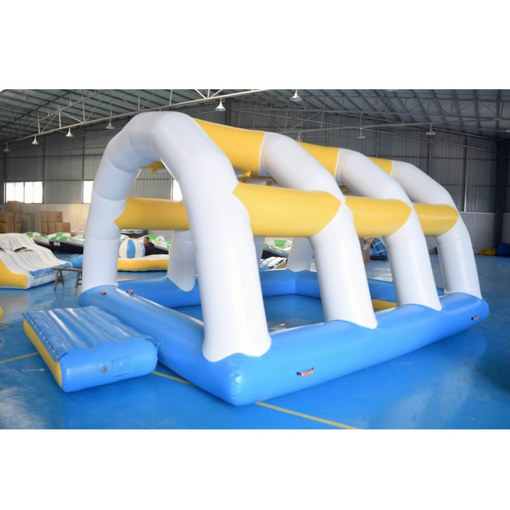 Bouncia  Pool Inflatable Water Park Sport Games With Slide Mini Inflatable Water Park image3
