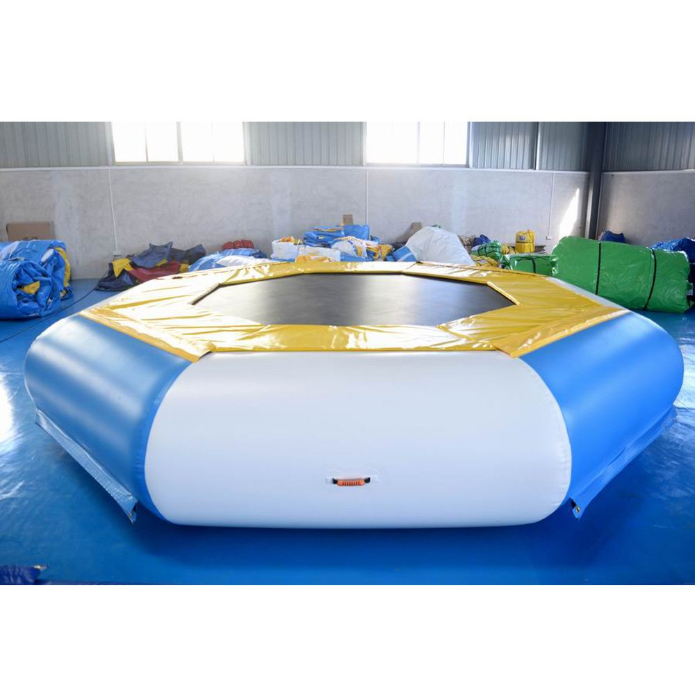 Bouncia  TUV Inflatable Floating Water Trampoline For Sale Single Inflatable Water Games image2