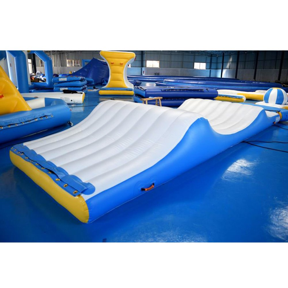 Bouncia  Exciting Inflatable Slipping Wave For Water Park Single Inflatable Water Games image4