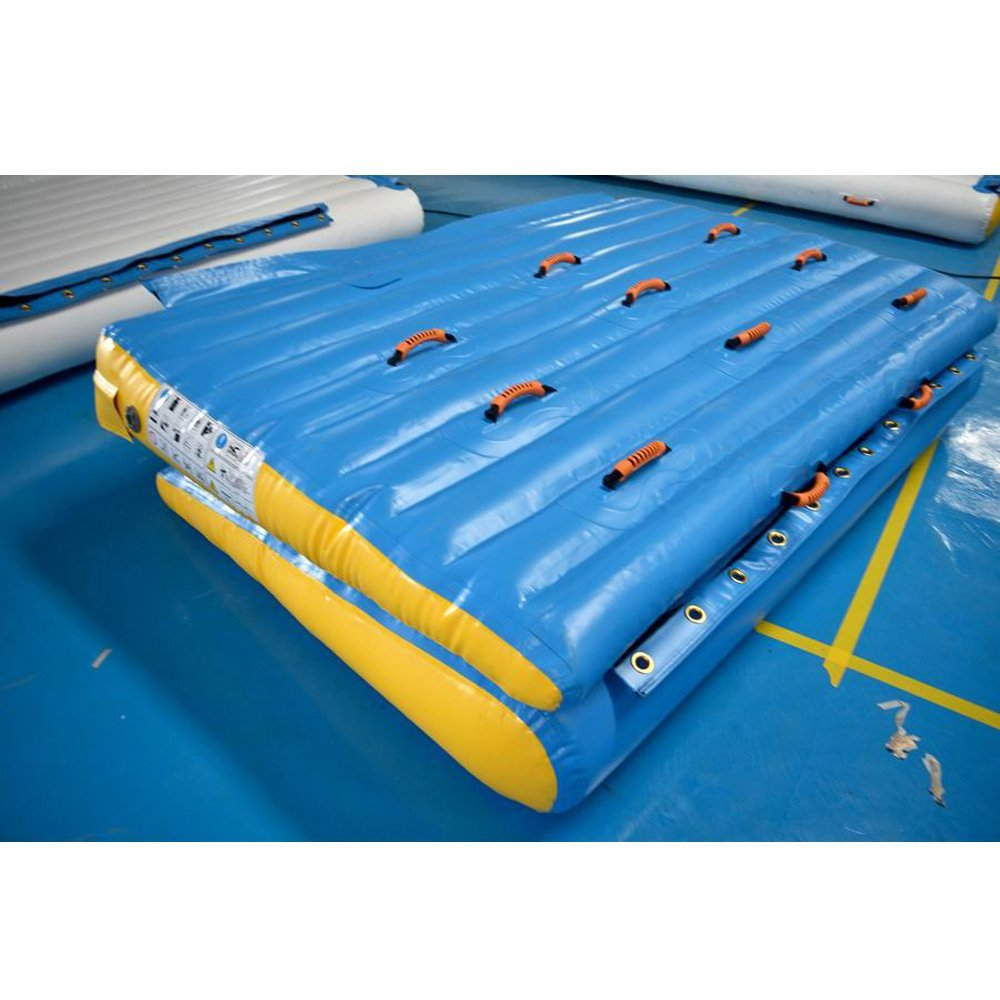 Bouncia  TUV Certiifcate Inflatable Ramp for Pool Single Inflatable Water Games image11