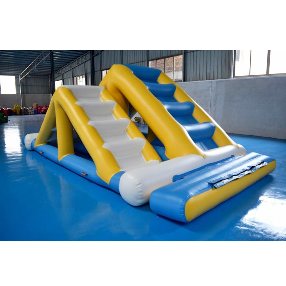 Bouncia  Water Park Games Double Ladder Single Inflatable Water Games image17