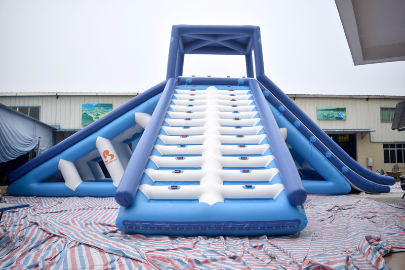 ladder top selling inflatable water games bouncia Bouncia