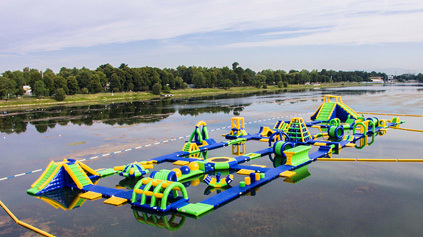 Video of Milano Inflatable Water Park
