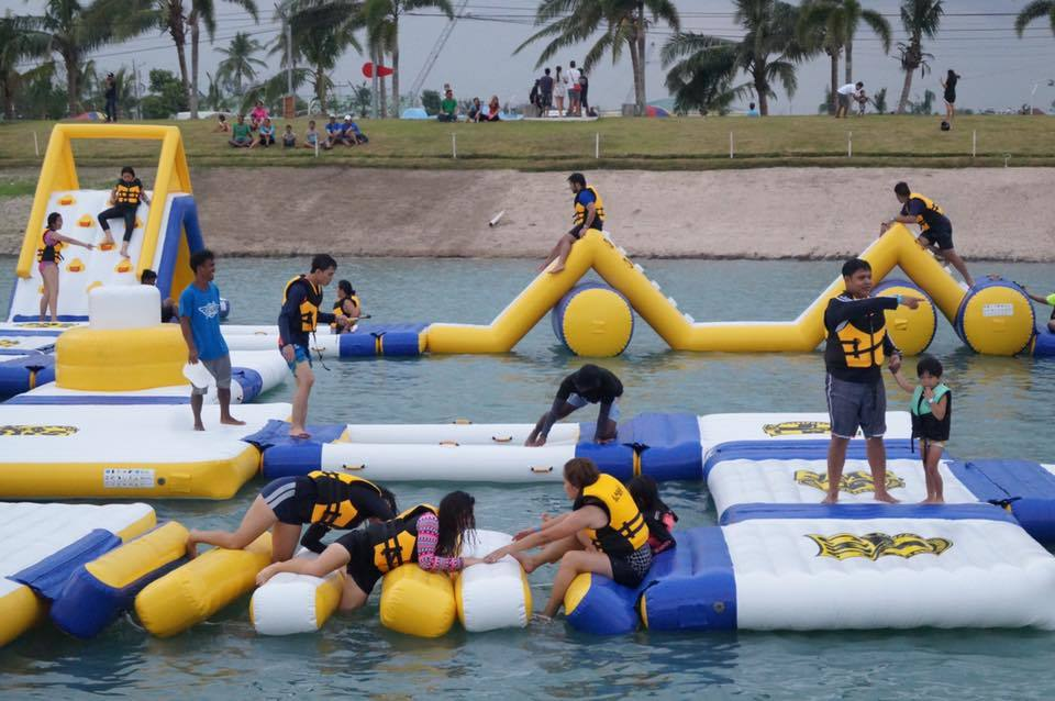 Inflatable Floating Water Park Games