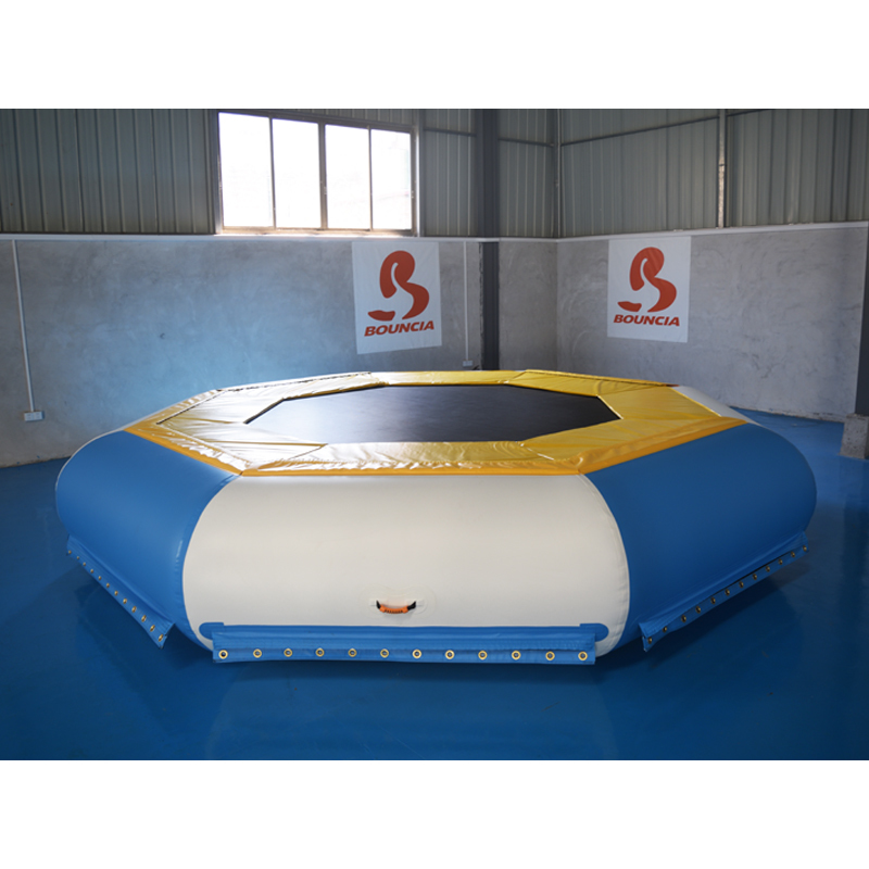 TUV Inflatable Floating Water Trampoline For Sale
