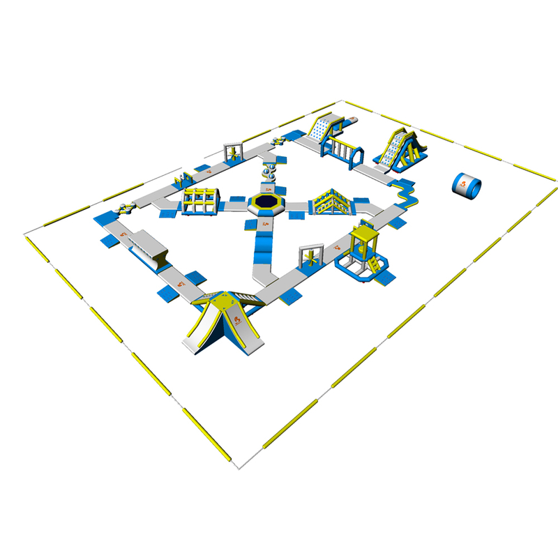 Bouncia Inflatable Water Park Equipment For Sale