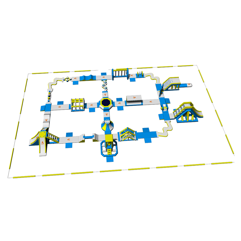 Lake Inflatable Water Park Games For Adults