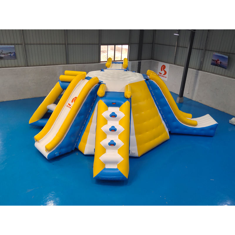 Awesome All In One Station Inflatable Water Park Games