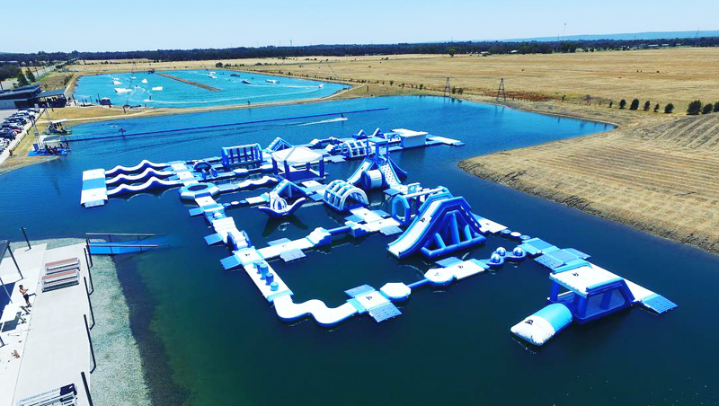 Australia Giant inflatable Water Park