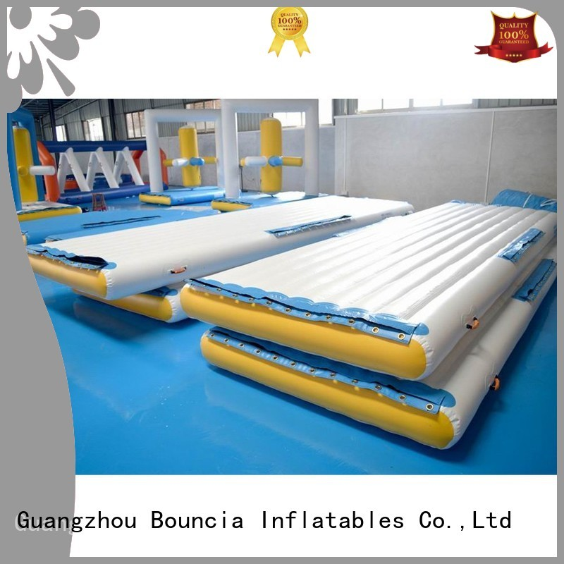 tower grade inflatable water games certiifcate Bouncia