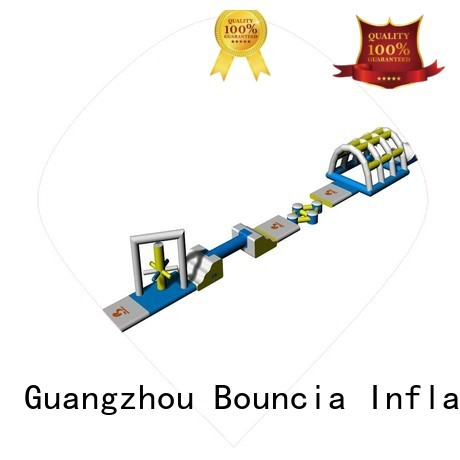 toys design inflatable floating water park big Bouncia Brand company