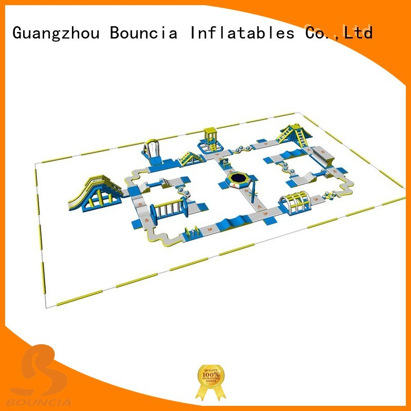Bouncia Brand aqua blow up water park business factory