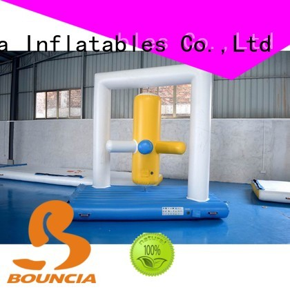 aquapark wall climbing inflatable water games Bouncia Brand company