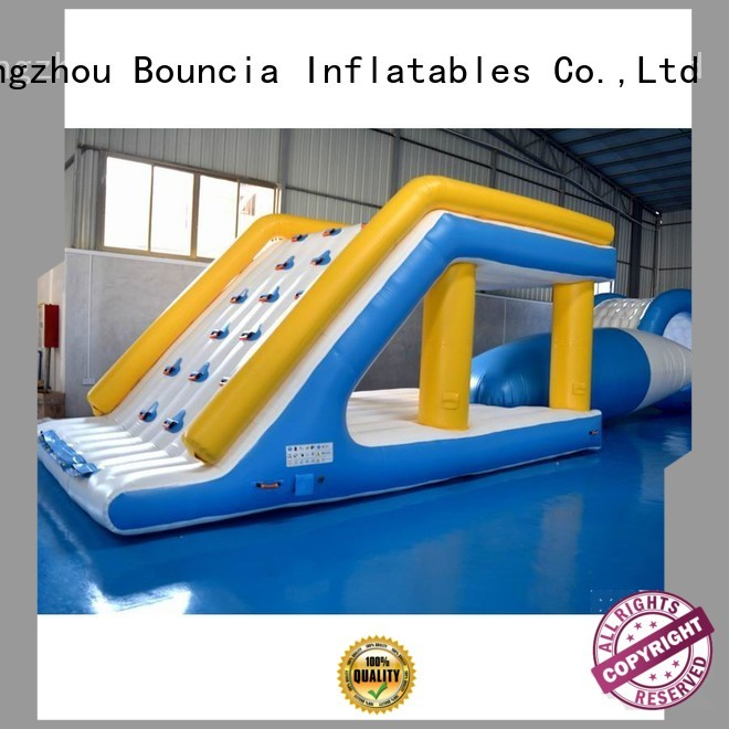 park trendy colum Bouncia Brand inflatable water games supplier