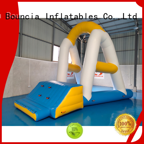 trampoline crazy inflatable water games guard Bouncia