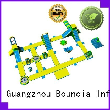 park 09mm games Bouncia Brand inflatable water park for adults factory