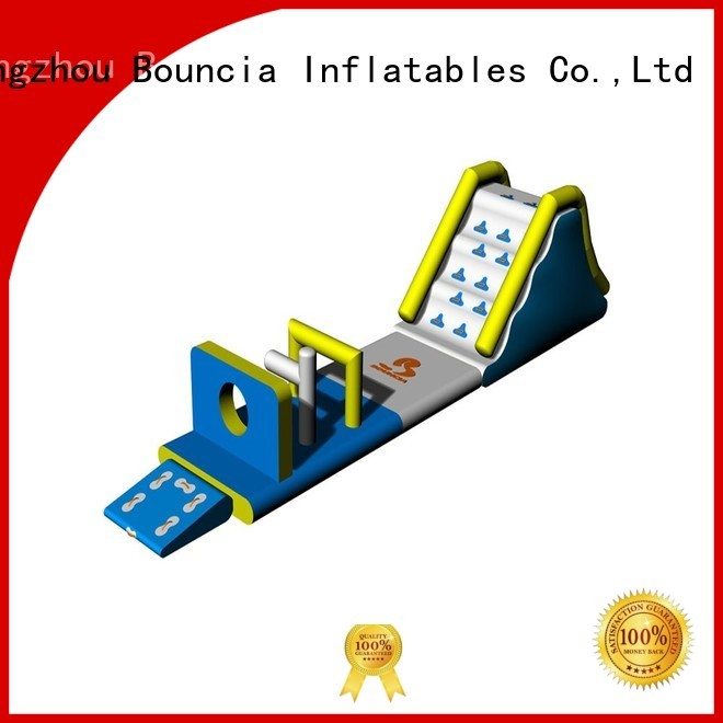 ladder big professional tower Bouncia Brand inflatable floating water park supplier