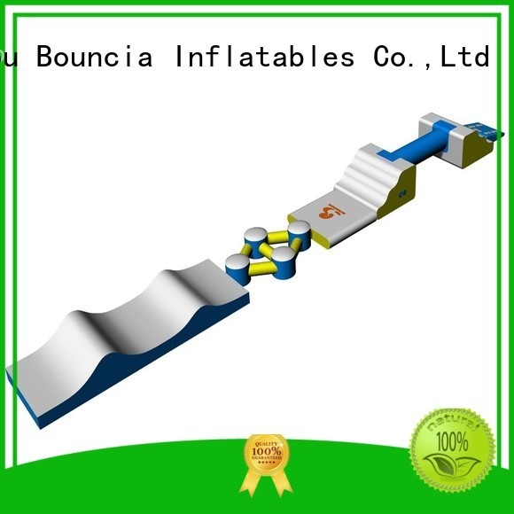 Quality Bouncia Brand small inflatable water park inflatable toys