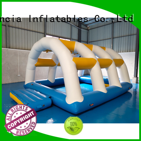 certiifcate 09mm inflatable water games inflatable Bouncia Brand company