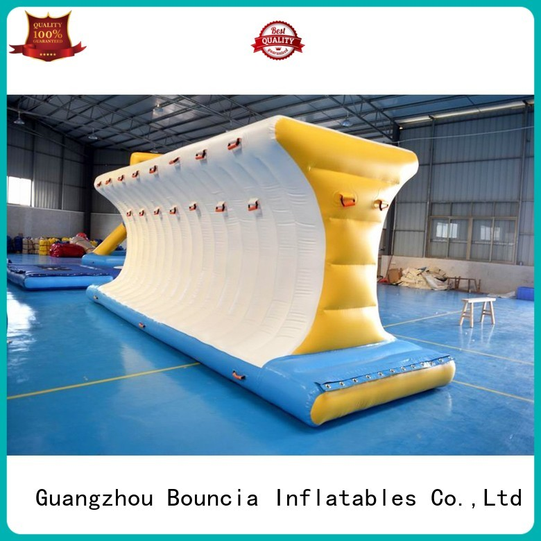 bridge obstacle inflatable water games wave Bouncia Brand company