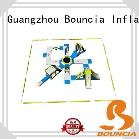 new rental inflatable float Bouncia Brand