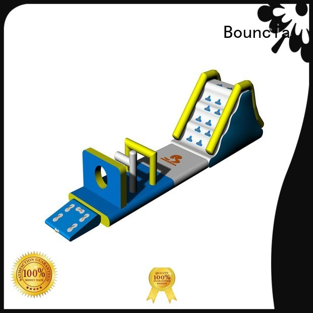 Bouncia Brand sport course commercial small inflatable water park rental
