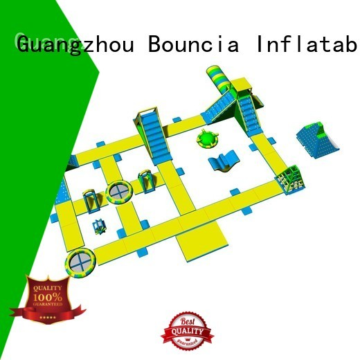 Bouncia Brand blob tower inflatable water park for adults
