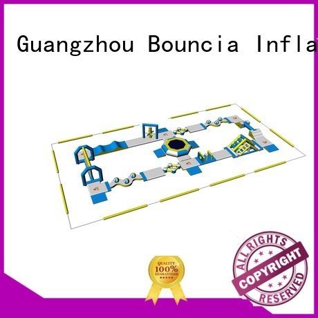 Hot blow up water park park Bouncia Brand
