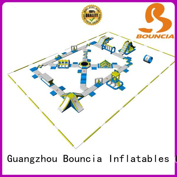 aquapark certification bounica Bouncia inflatable float