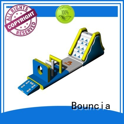 Bouncia Brand toys inflatable floating water park party factory
