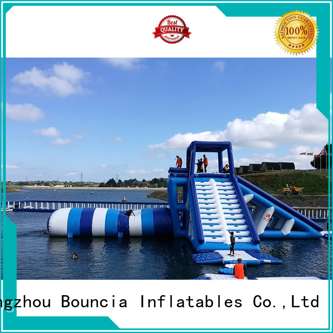 pool top selling certificate inflatable water games Bouncia Brand company