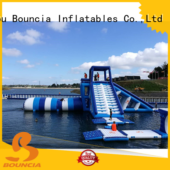 Hot inflatable water games exciting Bouncia Brand