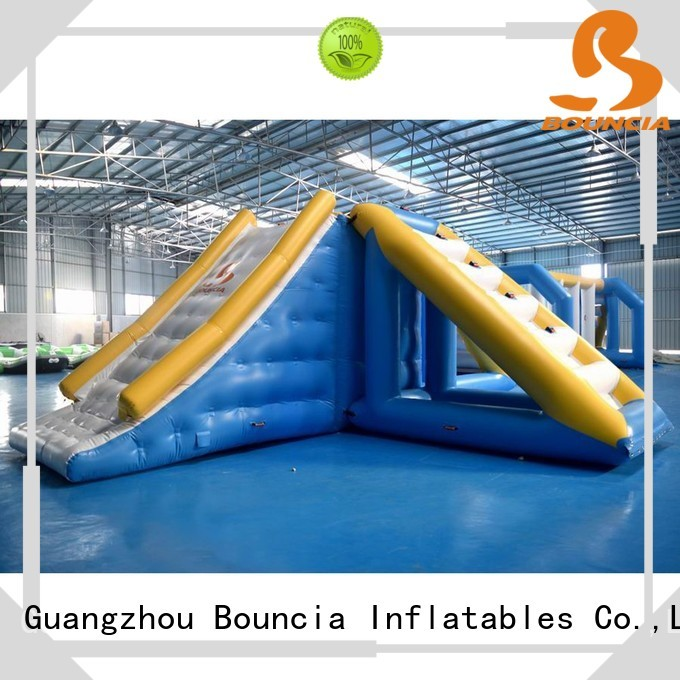 Custom popular inflatable water games certification Bouncia